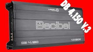4-канальний підсилювач URAL (Урал) DB 4.150 V. 3, розпакування, огляд, що нового в третій версії