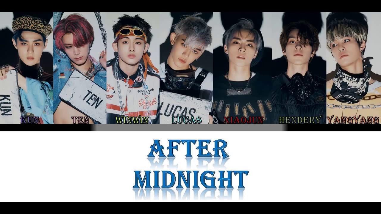 WayV  - After Midnight (LYRICS) (COLOR CODED  : CHIN_ PIN_ ENG)