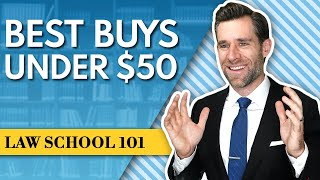 5 Things Every Law Student Should Buy In Law School (under $50)