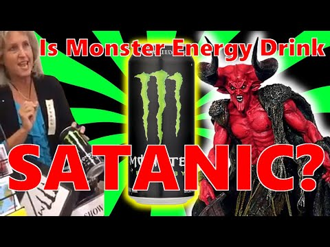 Is Monster Energy Drink the Mark of the Beast? 666
