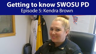 Getting to know SWOSU PD Ep. 5: Chief Kendra Brown
