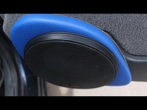"""Подиумы под 16"""" динамики в двери ВАЗ 2110. DoRABOTKA"""