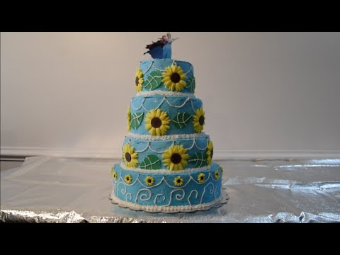 Frozen Fever Cake How to make Anna's Birthday Cake from Frozen Fever 2 Tutorial Frozen Short
