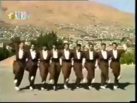Kurdish halay dance ''halparke''