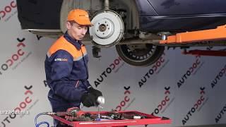 Jak wymienić tylne tarcze hamulcowe i klocki hamulcowe w BMW 7 E65 TUTORIAL | AUTODOC