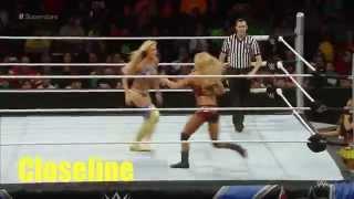 WWE Divas Signatures & Finishers 2015