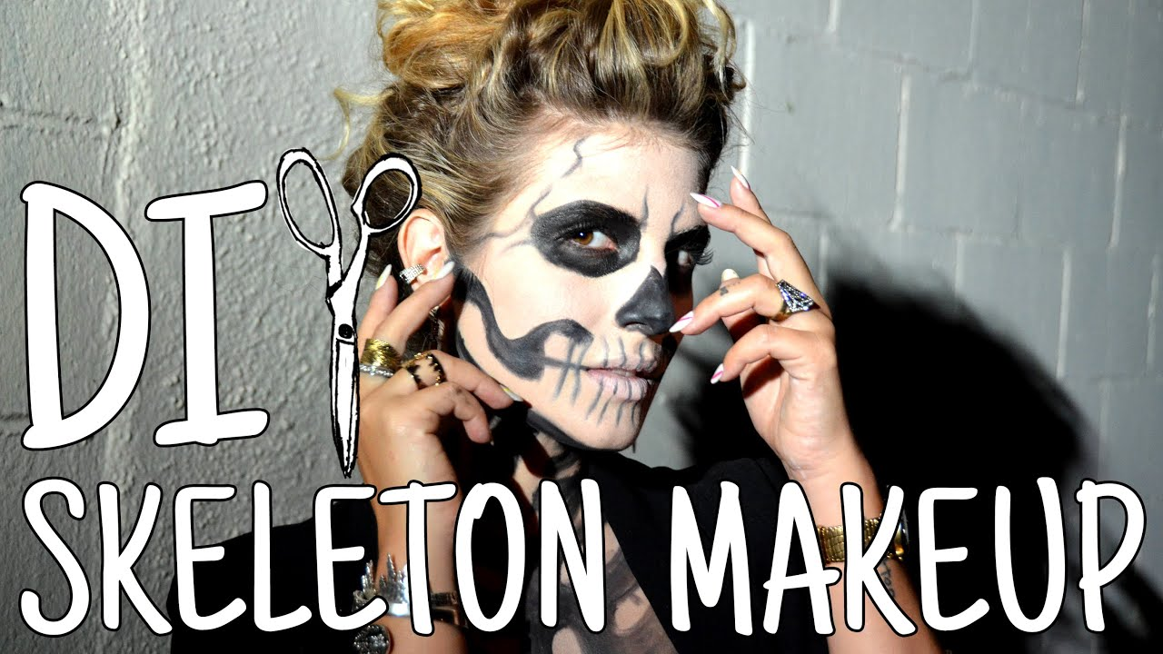Diwhynot  Diy Stylish Skeleton Makeup