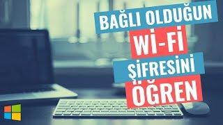 Wifi (wireless,kablosuz) Şifresini Öğrenme