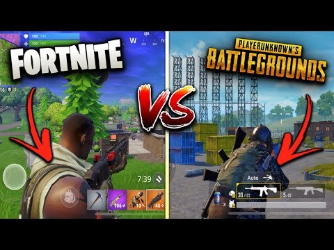 Fortnite Mobile Vs. PUBG Mobile! (Which Game Is Better)