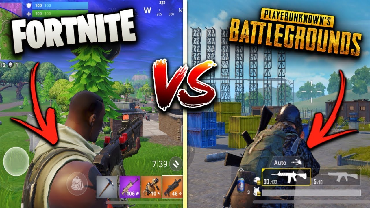 Pubg V Fortnite: Fortnite Mobile Vs. PUBG Mobile! (Which Game Is Better