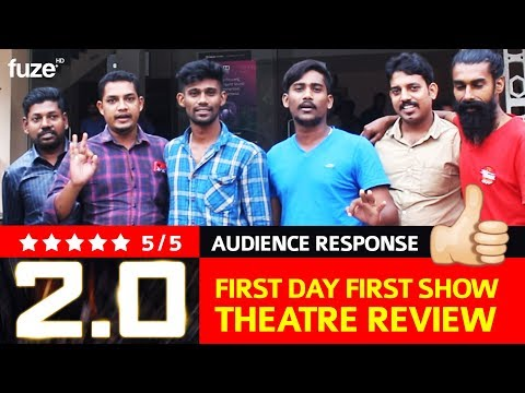 Enthiran 2.0   First Day First Show Audience Review   Audience Response   Trivandrum   Fuze HD
