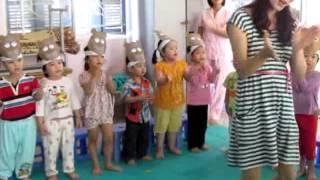 Tiết dạy âm nhạc của cô Lưu Thị Kim Thoa