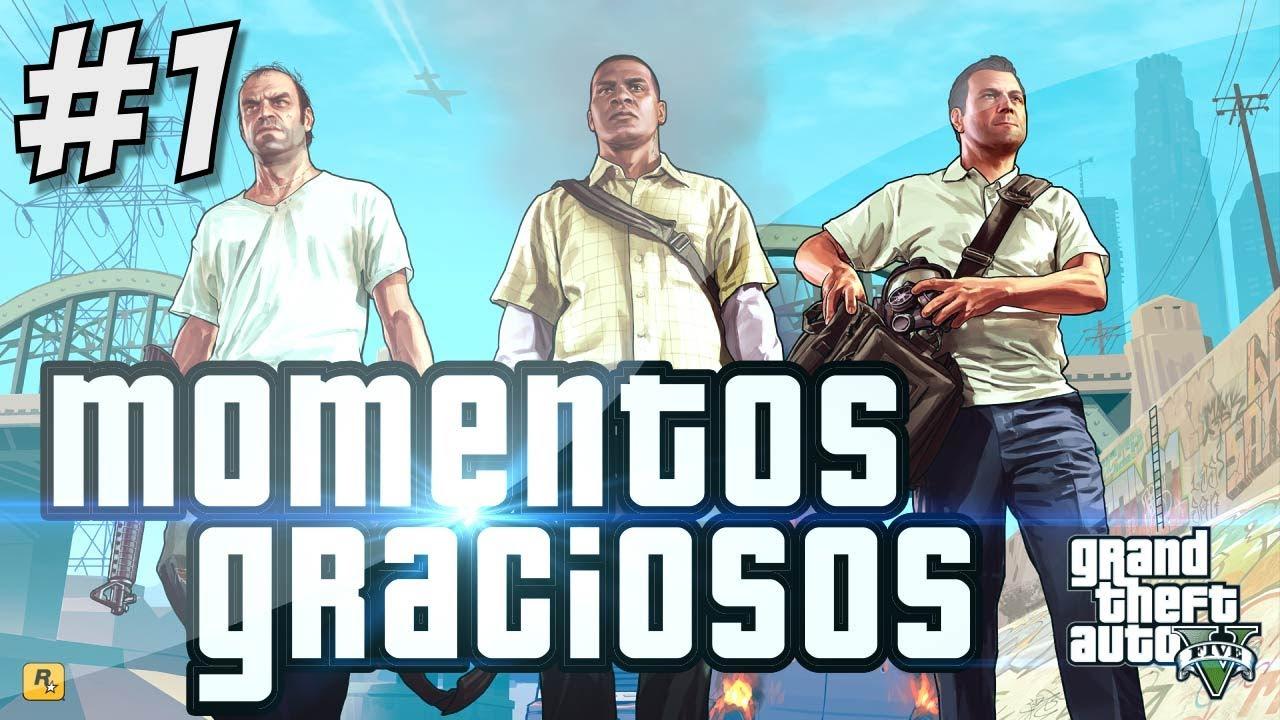 GTA V: Momentos Graciosos y Locuras! | Grand Theft Auto V Gameplay (Español-Chile)
