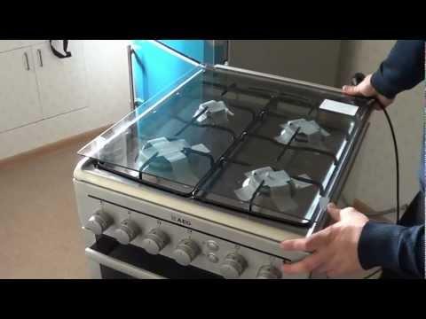 Установка и подключение газовой плиты