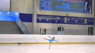 III - место, I -й юношеский разряд (девочки одиночное катание), Батяева Даша, 8 лет