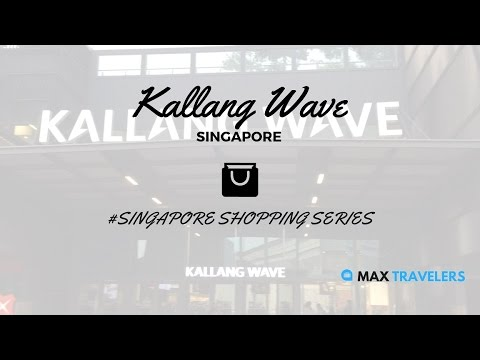 Singapore Shopping Kallang Wave Mall vlog