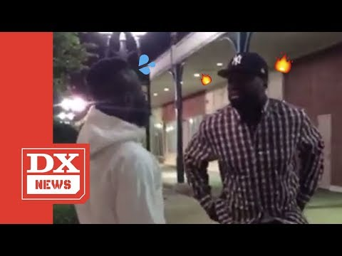 Bootleg Kev - WATCH: 50 Cent Almost Fights Struggle Rapper