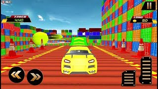 Impossible Stunt Driving - Action Car Racing Games 2019 - Android Gameplay Video #2