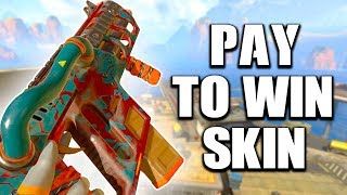 THIS PAY TO WIN SKIN GOT ME A 20 KILL GAME... - PS4 APEX LEGENDS!