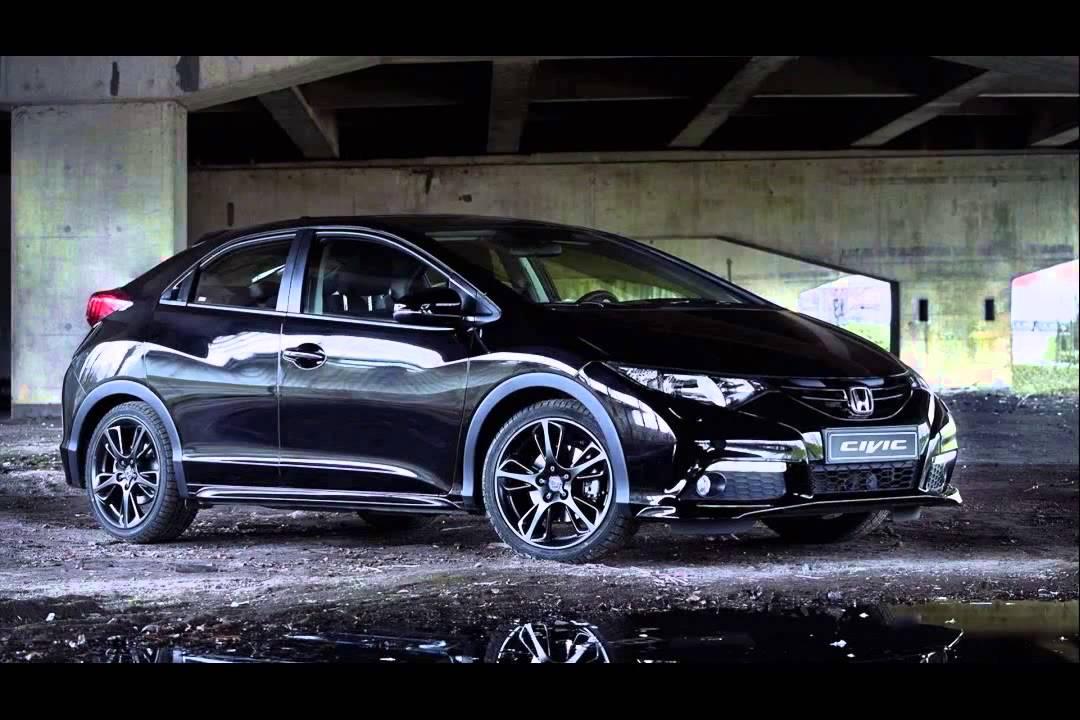 honda civic black edition 2015 model - YouTube