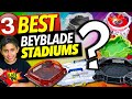 3 Best Beyblade Stadiums! Hasbro & Takara Beyblade Burst Games