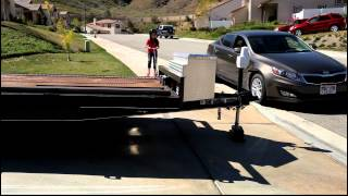 Extendable Utility Trailer by Trailer Solutions LLC