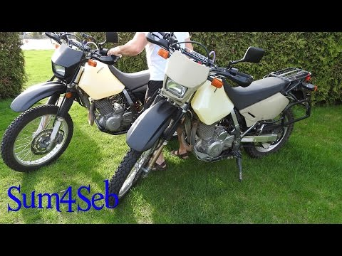 Unbox and install of Acerbis 20L / 5.3Gal Fuel Tank for Suzuki DR650 |¦| Sum4Seb Motorcycle Video