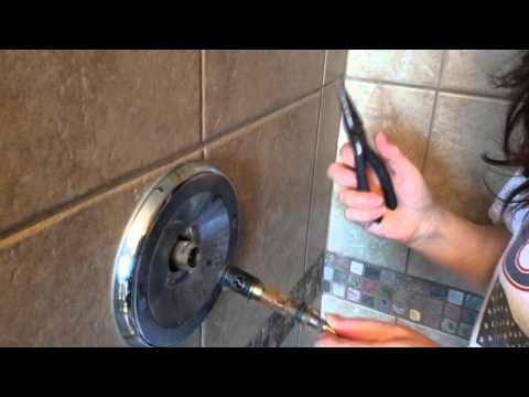 how to fix leaky shower head video