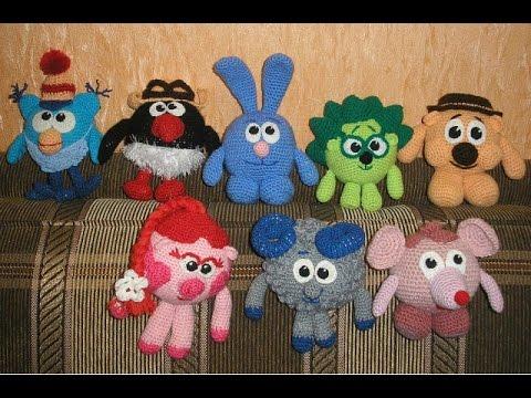 КРОШ Смешарики Часть 4 Croche Kikoriki Part 4 Crochet