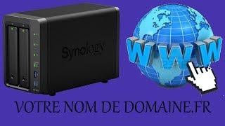 Héberger un site web HTML sur un NAS Synology avec un nom de domaine