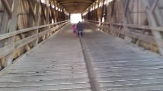Hamilton County Potters Bridge 3/23/2017 Bora & Maya