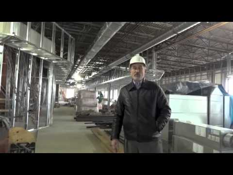 Inside Gibson's Bookstore During Construction