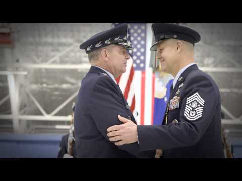 Chief Master Sergeant of The Air Force Transition Ceremony
