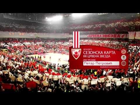 Sezonske karte za sezonu 2014/15   KK Crvena zvezda Telekom