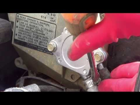 Yard Machine fuel system troubleshooting and repair
