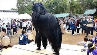 令和元年 丸亀垂水神社秋祭 前出、獅子舞 五段