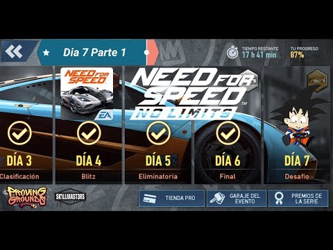 Need For Speed No Limits Android McLaren F1 LM Dia 7 Desafio Parte 1