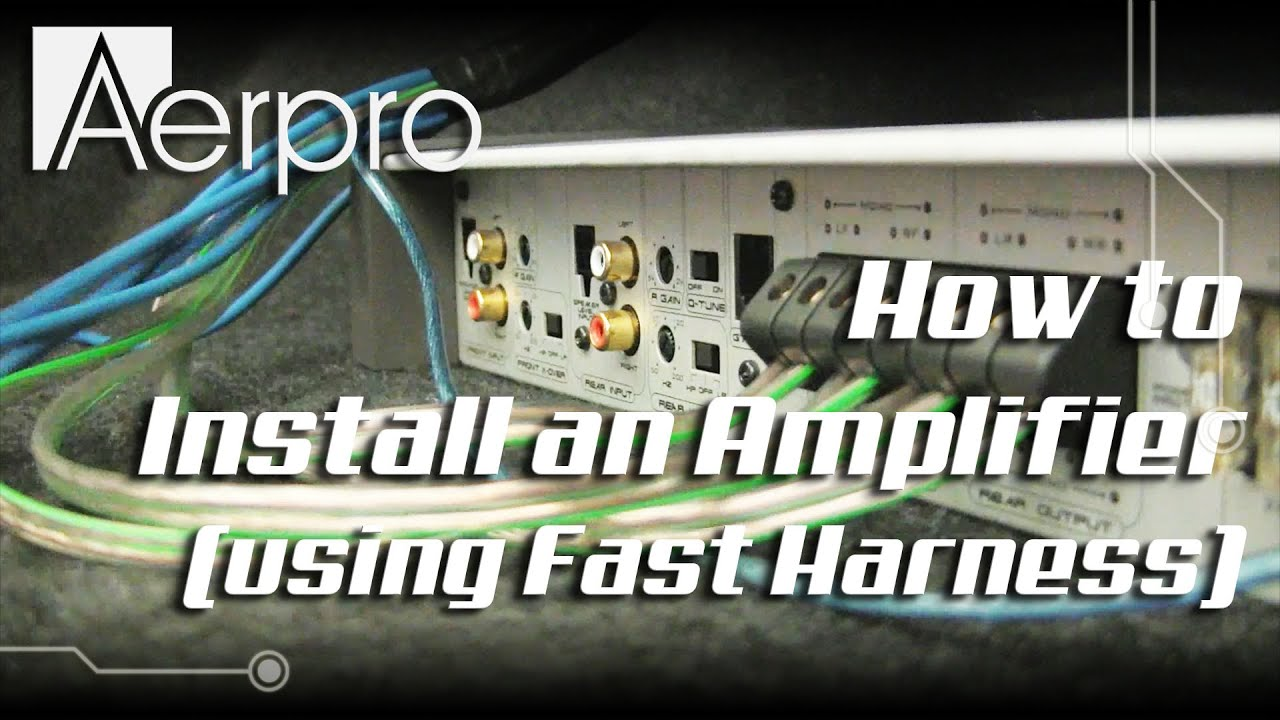 Aerpro Wiring Harness on