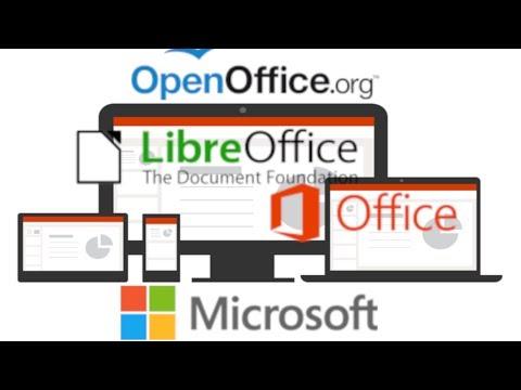 Microsoft Office vs LibreOffice vs OpenOffice   2018