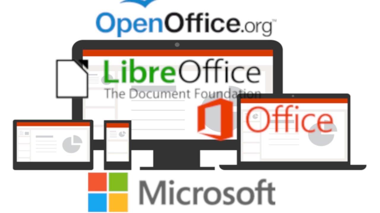 Microsoft office vs libreoffice vs openoffice 2018 youtube - Open office vs office libre ...