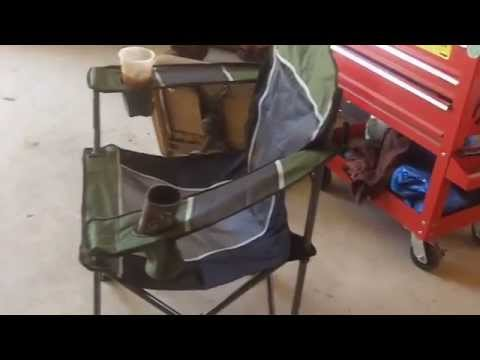 Cabelas Big Boy Folding Chair Review 5-09-2015