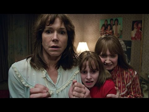 The Conjuring 2 Stars Madison Wolfe & Frances O'Connor, Soundbyte