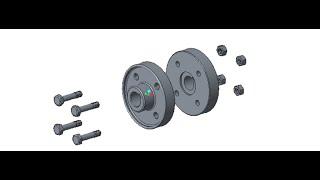 PTC Creo (Pro E) Maak de assembly animatie (Montage animatie)