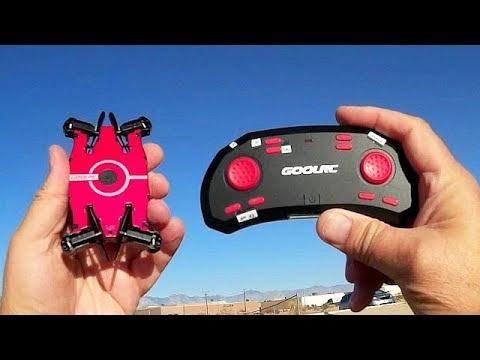 GoolRC T49 JJRC H49 Eachine E57 720p HD FPV Selfie Drone Flight Test Review