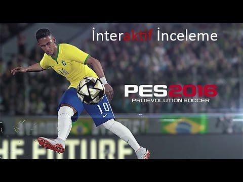 PES 2016 İnteraktif İnceleme