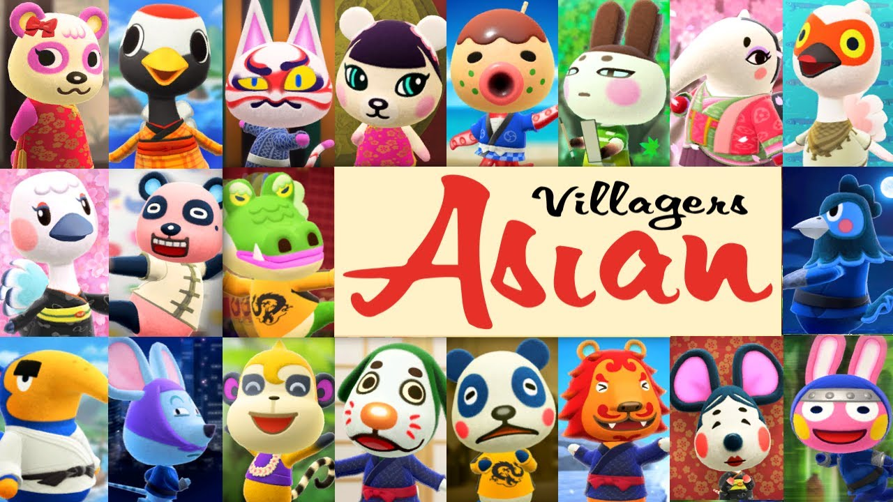 All 20 Asian Themed Villager House Interiors In Animal Crossing New Horizons Youtube