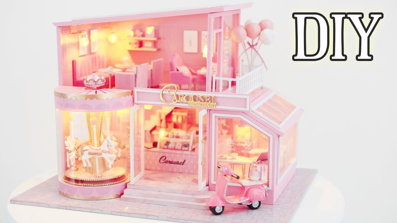 DIY Miniature Dollhouse Kit || Childhood Memory - Miniature Land