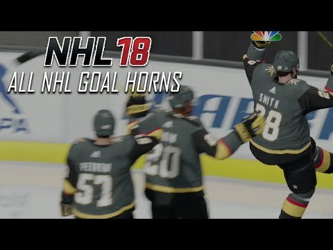 NHL 18 - All NHL Goal Horns