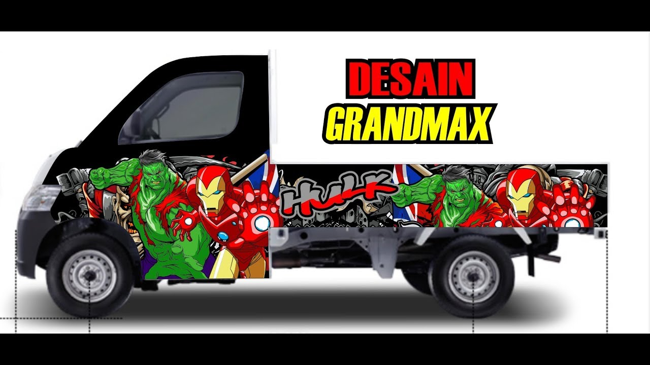 10+ Ide Desain Stiker Mobil Gran Max Pick Up - Sticker Fans