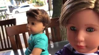 Tibet, Kıvanç ve Poyraz'ın Saçlarını kesiyoruz!! Berberdeyiz! American girl video Bidünya Oyuncak